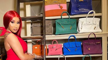 Cardi B Claps Back at Claim That Black Female Rappers Devalue Birkin Bags