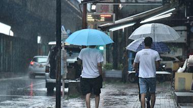 快訊/雨彈北移!台北市士林、高雄二區一級淹水警戒「出門注意!」