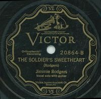 Jimmie Rodgers – The Soldier's Sweetheart Lyrics - Genius