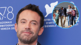 See Ben Affleck's Daughter Violet Drive Her Dad and Siblings to Lunch