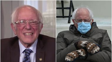 Bernie Sanders reacts to inauguration memes: 'I was just trying to stay warm'