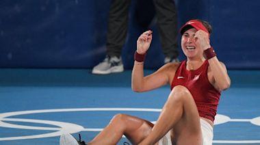 東奧》費德勒、辛吉絲都做不到! 本西琪成瑞士首位網球女單金牌得主