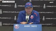 Barry Trotz talks Oliver Wahlstrom, lineup changes for Game 4 | Islanders News Conference