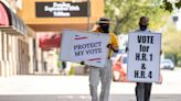 As McConnell talks COVID, Afghanistan in Louisville, local NAACP gathers for voting rights