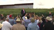 Trump visits U.S.-Mexico border as NY charges loom