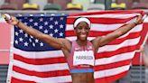 Track and Field Updates: Keni Harrison Wins Silver in Women's 100m Hurdles