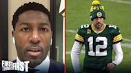 Greg Jennings: Green Bay bought into 'Aaron Rodgers is falling off' hype | FIRST THINGS FIRST