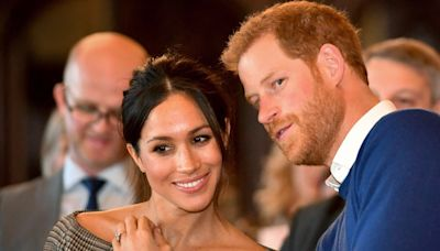 """Prince Harry Is """"Really Missing"""" Meghan Markle and Will Only Stay in England for One Week"""