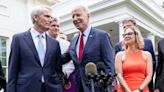 Biden, Democrats exploring new tax options after Sinema reportedly blocks rate hikes on corporations, the wealthy