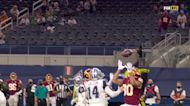 Can't-Miss Play: Montez Sweat's athleticism on full display for block, pick-six