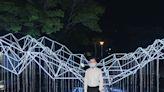 新竹光臨藝術節第二彈開展 清、交大光影裝置也來PK