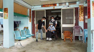 提供安心接送及到宅施打 台南101歲人瑞也完成接種