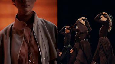 Hermès 2021秋冬時裝系列充滿光芒神秘感!服飾設計依舊華麗充滿藝術氣息!