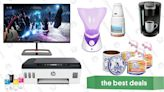 """...s Best Deals: Spectre 27"""" Gaming Monitor, HP Smart Tank Printer, Facial Exfoliator Brush and Steamer, Dutch Stroopwafels, and ..."""