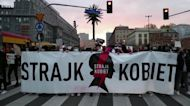 Abortion rights protests block Poland's streets