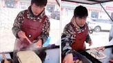 周杰倫在中國路邊賣蛋餅?網友近看:完美詮釋歌詞