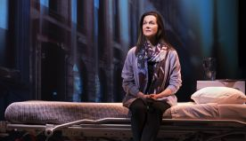 Laura Linney gives a dexterous performance in My Name is Lucy Barton in New York