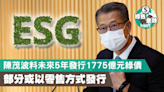 【ESG】陳茂波料未來5年發行1775億元綠債 部分或以零售方式發行 - 香港經濟日報 - 理財 - ESG - ESG趨勢政策
