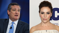 Alyssa Milano and Ted Cruz come together for gun control debate