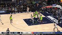 Nickeil Alexander-Walker with a 2-pointer vs the Minnesota Timberwolves