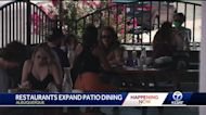 Albuquerque city leaders help local restaurants expand patio dining areas