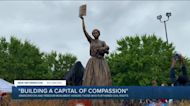 Emancipation and Freedom Monument unveiled on Brown's Island in Richmond