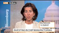 Commerce Sec. Raimondo on Chip Shortage, Skills Gap, China Tariffs