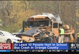 At Least 10 Hurt When Elementary School Bus Collides With Landscaping Truck In New Windsor, N.Y.