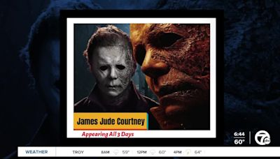 Man who plays Michael Myers in 'Halloween' speaks on Motor City Comic Con