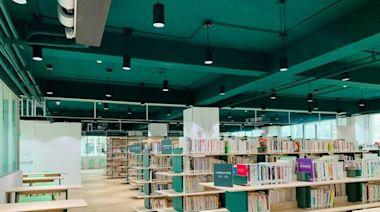600坪6萬冊藏書 竹市最大圖書館龍山分館暑假上線