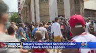 U.S. Department Of Treasury Sanctions Cuban Police, As President Biden Meets With Cuban-American Leaders