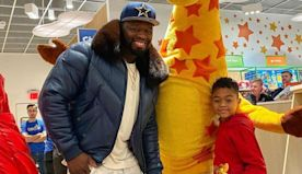 50 Cent 'Shuts Down' Toys 'R' Us Store for 7-Year-Old Son Sire Before Christmas