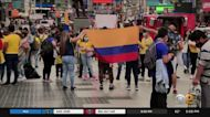 New Yorkers Hold Rallies In Solidarity With Protesters In Colombia