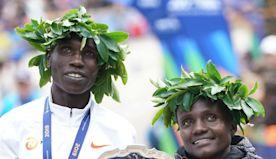 Kenyans Geoffrey Kamworor, Joyciline Jepkosgei win New York City Marathon - OlympicTalk