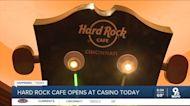 Hard Rock Casino opens with live music, memorabilia