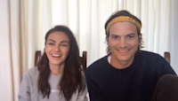 'Tonight': Ashton Kutcher, Mila Kunis Enlist Friends to Teach Their Kids
