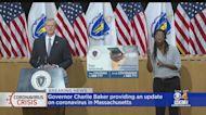 Gov. Charlie Baker Gives Update On Coronavirus In Massachusetts