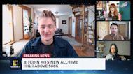 Bitcoin Hits New All-Time High Above $66K, NBA and Coinbase Ink Multiyear Partnership