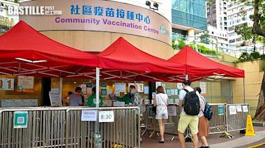 本港再增5萬人接種疫苗 1.6萬人打首劑科興創單日新高 | 社會事