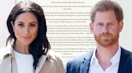 Prince Harry and Meghan Markle Are Left Speechless Over Crises in Haiti and Afghanistan