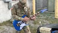 Soldier's badass Van Halen tribute goes viral
