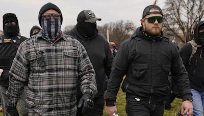 Judge orders two Proud Boys leaders held in custody over Capitol attack