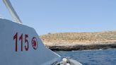 Nel tratto fra la costa e l'isolotto di Lampione a fine giugno ci fu l'ennesima tragedia del mare