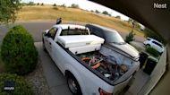 Nest Camera Captures Moment Colorado DoorDash Driver's Car Rolls Away