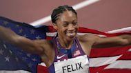 Track Star Allyson Felix Makes History at The Olympics