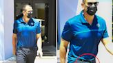 ARod shows off his bulge AGAIN leaving Miami gym to work on his 'dad bod'