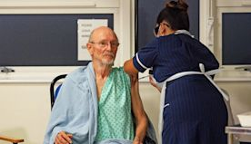 Second patient to get Covid jab is called William Shakespeare from Warwickshire