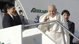 The Latest: Pope announces visit to Japan in November