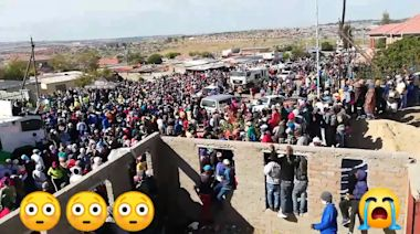 Poverty in South Africa: Food parcel chaos during lockdown.