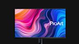 華碩32吋mini LED螢幕ASUS ProArt:首款120Hz與1600nits 價格不便宜